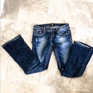 ReRock jeans by express size 2 short